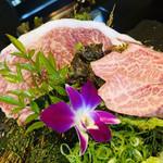 112769143 - サシがいっぱい入った神戸牛ですヽ(´▽`)/
