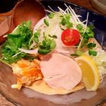 Torisobajiyuubanichikoro - 冷やし中華(980円)