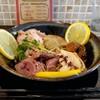 Nikumenhidamarian - 料理写真:肉肉まぜそば 塩レモン