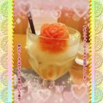 MGカフェ - ◆ぼくが溶けてしまっても きみは泣きもしないんだろフロート ~バラのシャーベット添え~◆