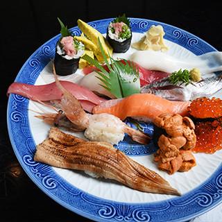 板さん入魂の寿司