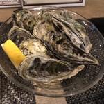 牡蠣と魚 -