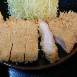 鈴亭 - ロースカツ定食900円