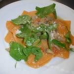 ランテルナ - ほろほろ鶏と野菜の煮込みソースのラザニアシートパスタ(ナイフでカットして召し上がれ)