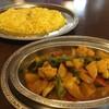ナマステ - 料理写真:季節の野菜カレー900円+サフランライス50円