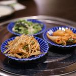 百濟 - 前菜3品☆
