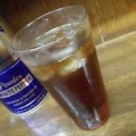 らーめん 玄 - 黒ウーロン茶 100円