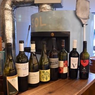 オーナー厳選拘りイタリアワインをカジュアルに
