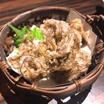芋んちゅ - もずくの天ぷら