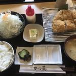 かつ菜 - ジャンボチキンカツ定食