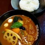 SAMA - 料理写真:ベジタブルカリー 1080円