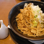 醤道ver匠重 - あえ麺「ダブルインパクト(@850円)」