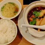 "Taiwantami - ""白身魚のせ麻婆豆腐"""
