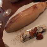 irutoramu - 前菜(チコリのロースト トリュフオイルがけ)