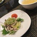 中国四川料理 道 - 棒々鶏は臭み皆無で美味しい。(^^)
