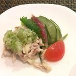 中国四川料理 道 - コースの前菜の方が美味しい。