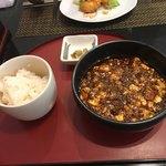 中国四川料理 道 - 私の麻婆豆腐(無料で頂ける辛い物)