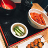 まんまる - 料理写真:うな丼とくりから焼き