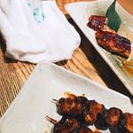 まんまる - 倶利伽羅焼きと蒲焼き