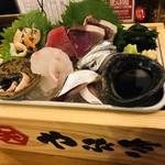 大衆酒場 やぶき - ☆鮮魚お刺身盛り合わせ