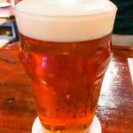 アウグスビール ラボ・キッチン - アウグスビール IPA 950円/パイント (UKパイントですが、アメリカンIPAです)