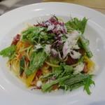 タント タント - 料理写真:野菜とベーコンのペペロンチーノ