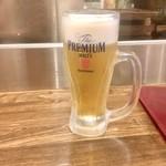 日本栄光酒場 ロッキーカナイ - 生ビール