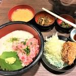 112798536 - 190729月 東京 串エ門室町店 ネギトロ丼ランチ