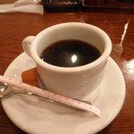 アルカサール - 食後のコーヒー