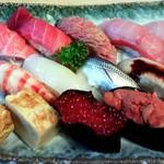 寿司忠 - おまかせというセットメニュー