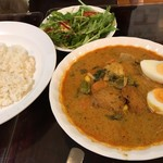 エスニックカリー メーヤウ - 野菜カレー