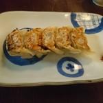 まんざら - 島唐辛子餃子(280円)