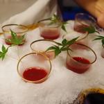 かまくら和久 - 鼈の生き血と日本酒