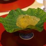 かまくら和久 - 鼈の煮凝りのジュレ、海胆