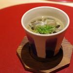 かまくら和久 - 鼈の茶碗蒸し、エンペラ、フカヒレ