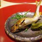 かまくら和久 -  鮎の塩焼き