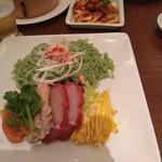 112808650 - 翡翠冷麺、具がたくさん