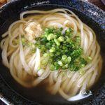麺工棒 - かけうどん290円(第一回投稿分②)