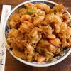 そば処 名古屋 - 料理写真:かき揚げ天丼