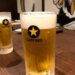 原価ビストロチーズプラス - 生ビール