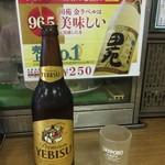 成田家 - 恵比寿瓶ビール大
