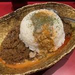 くにまつ+武蔵坊 - シンガポールなすカレー