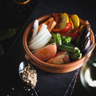 自社農園の朝採れ野菜をお店に直送◎新鮮なお野菜を楽しめます♪