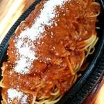 ドリーム - ドリーム@釧路 スパカツ 粉チーズをかけて