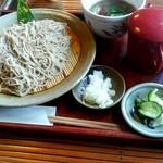 Yuukiteikawashima - 鴨せいろ1500円+大盛り300円