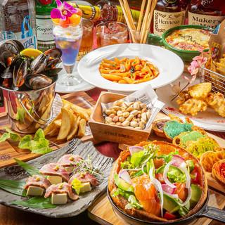 【バル】食べ飲み放題\3,980!居酒屋とチャペルが融合!