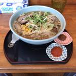 味美 藤田屋 - 辛みそラーメン、濃い口、いずれも別皿で調整可能、しかし最初からみな、へでしまう(入れてしまう)