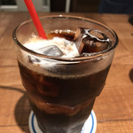肉が旨いカフェ NICK STOCK - アイスコーヒー