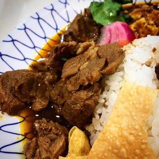 大衆中遊華食堂八戒 - ゴロゴロラム肉