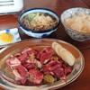 焼肉しぶさん - 料理写真:ランチ しぶさん定食 1,100円(税込)ジンギスカン追加800円(税込)